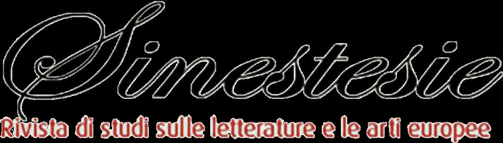 Sinestesie, rivista di studi sulle letterature e le arti europee